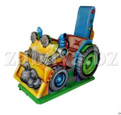 Automatic machine children's BULLDOZER