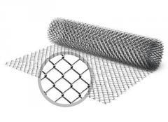 Grid chain-link galvanized