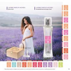French perfumery female aromas of