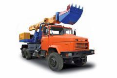 EW-25-M1 KRAZ-6322 excavator