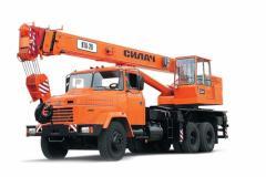 Автокран КрАЗ-65053 (КТА-28)