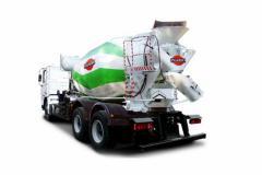 KRAZ P23.2 auto concrete mixer