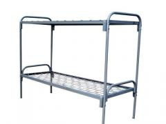 Мебель армейская металлическая. Кровать