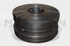 Tape 0,8х32 (with the covering) light steel