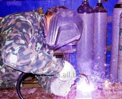 Сварочные газовые смеси, защитные газы для дуговой