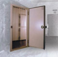 Doors for refrigerating and freezers