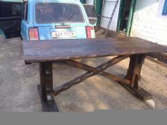 Стол из массива дерева ( элитная мебель )