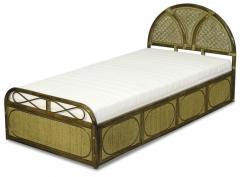 Кровать из ротанга, односпальная Венера