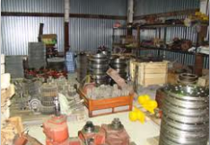 Spare parts to processing equipment for the
