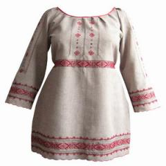 Platye-vyshivanka female 96, a dress in the