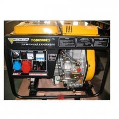 Генератор Forte FGD 6500 E3