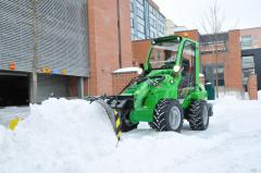 Snow removal machines of AVANT (Finland), sale,