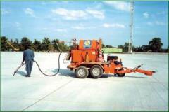 Mastic for sealing of seams and cracks of airfield