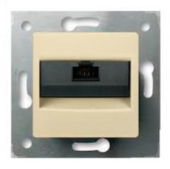 Cariva information outlet (computer) 1XRJ45 kat.6