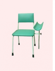 The chair is donor