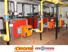Промышленный газовый жаротрубный котел Колви-500