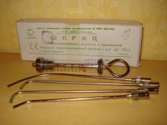 Stomatological syringes