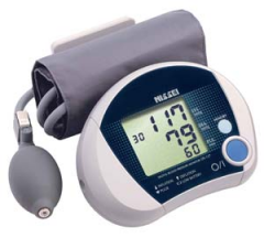 Semi-automatic tonometer on Nissei DS-137 shoulder