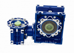 Worm reducers of GS-Drive, Motor reducers worm and