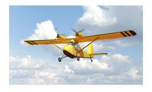 The plane double multipurpose (passenger, for