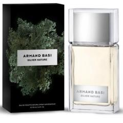 Toilet water for men of Armand Basi Silver Nature.