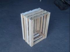 Ящик деревянный овощной 4-х ведерный