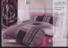 Bed linen for hotels. Koplekta of bed cloths in