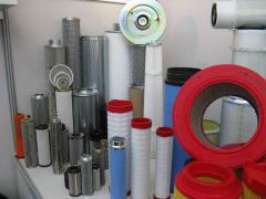 Spare parts to compressors