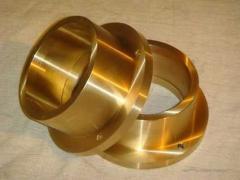 Plug bronze BrAZh, BrAZhN, BrAMts, BrOTsS, BROF