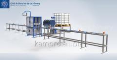 Оборудование для клееного бруса KAM Gluestream
