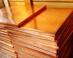Plate copper in assortmen