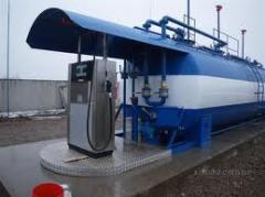 Оборудование топливо-заправочное, Оборудование