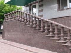Гранитные ступени и лестницы