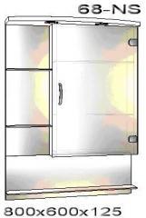 Шкафчик зеркальный 0068-ns