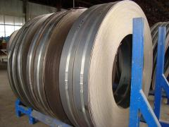 Strip with a steel thickness of 0,35... 6 mm in