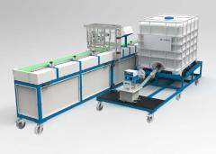 Оборудование для производства паркетной доски КАМ