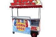Korn Mastiff, Hot dog, hot corn, spiral chips,