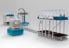 Оборудование для производства сэндвич панелей KAM