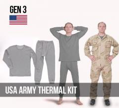 Layered clothing of army of the USA (GEN 3) se