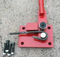 The machine for AG-16 fittings are flexible