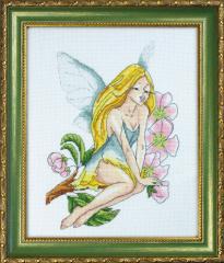 Набор для вышивания крестиком Весенняя фея