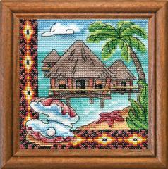 Embroidery 1280 Bungalo Okeanii cross