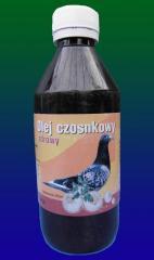 Чесночное масло для голубей