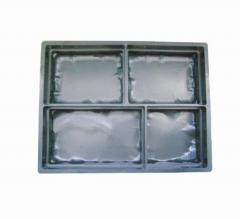 Moulds for paving slabs. Medieval Stone
