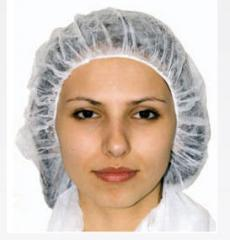 Hats disposable nonwoven on Romed tie