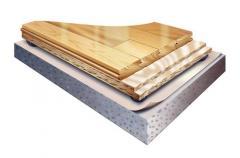 Parquet sports Action Flooring ProAction Thrus