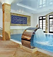 Installation of pools.