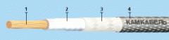 Провод   МПО 33-11 , фторопластовая ( тефлоновая )