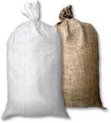 Bags are polypropylene woven
