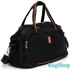 Дорожная сумка из ткани с отливом HP 289141Black